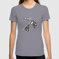 Celtic Xenomorph Womens Fitted Tee Slate SMALL