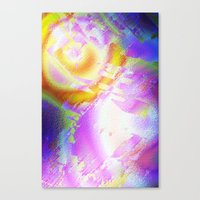 True Space Oddity abstract Canvas Print
