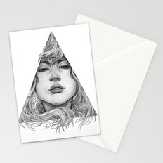 Triangle Portrait Stationery Cards