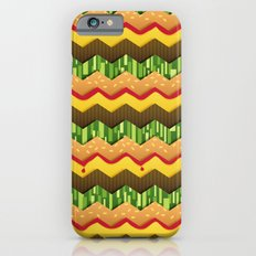 Cheeseburger Chevron Slim Case iPhone 6s