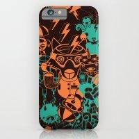 Dream Factory Orange And… iPhone 6 Slim Case