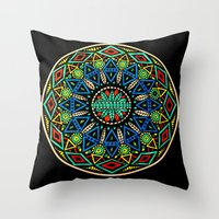 Dala 2 Throw Pillow