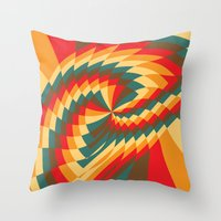 Half Circle (Available in the Society 6 Shop!) Throw Pillow