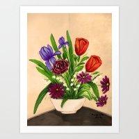 Flowers/still Life  Art Print