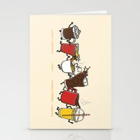 Hot N' Cold Stationery Cards