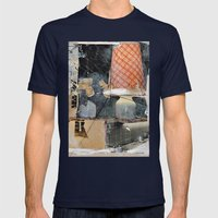 Dispatcher, 7 Mens Fitted Tee Navy SMALL