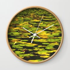 Water Lilly  Wall Clock