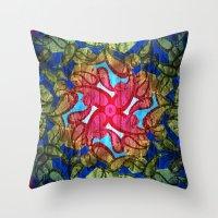 Textured pt2  Throw Pillow