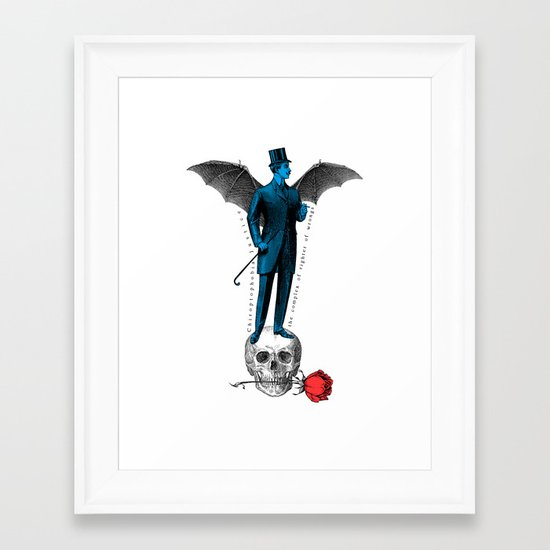 the complex of righter of wrongs Framed Art Print
