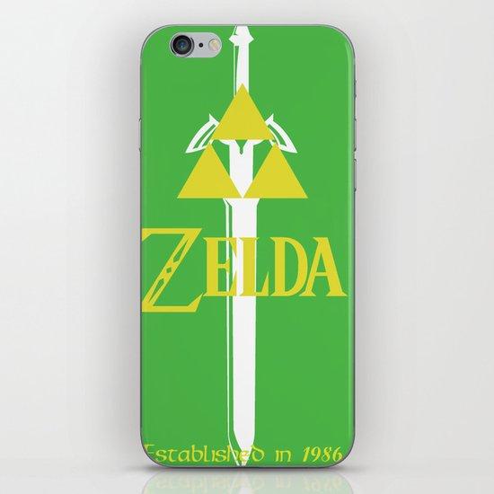 Legend of Zelda iPhone & iPod Skin
