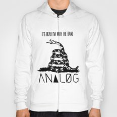 Snake and Band (Analog Zine) Hoody