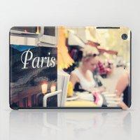 Paris Street Scene iPad Case