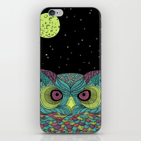 The Mystique Owl iPhone & iPod Skin