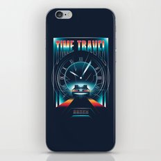 Time Travel iPhone & iPod Skin