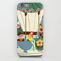 iPhone & iPod Case featuring The Coffee Carousel by Marijke Buurlage