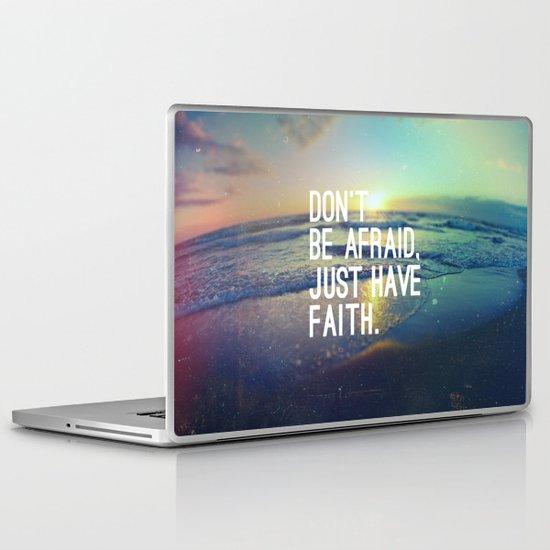 JUST HAVE FAITH Laptop & iPad Skin