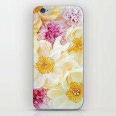 peony cascade iPhone & iPod Skin
