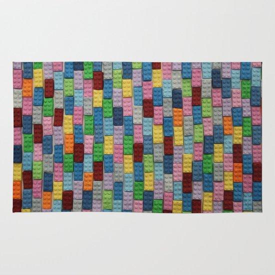 Bricks Area & Throw Rug