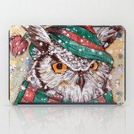 Christmas Owl iPad Case