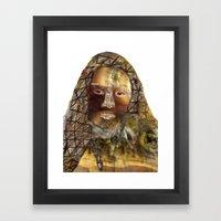 adsız Framed Art Print