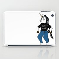 Unicorn Vs. He-Man iPad Case