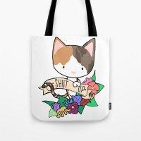 Calico Cat. SHUT UP! Tote Bag