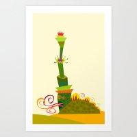 Animaveggie Art Print