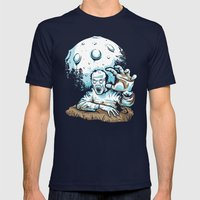 Z! Mens Fitted Tee Navy SMALL