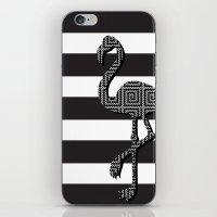 Flamingo Craze iPhone & iPod Skin