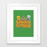 Adventure Crossing Framed Art Print