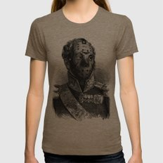 Jason Voorhees Womens Fitted Tee Tri-Coffee SMALL