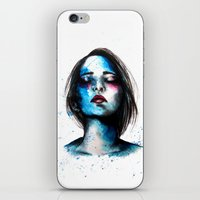 Sail // Fashion Illustra… iPhone & iPod Skin