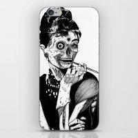 Zombie At Tiffany's iPhone & iPod Skin