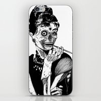 Zombie At Tiffany's iPhone & iPod Skin