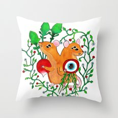 Eye keepers Throw Pillow