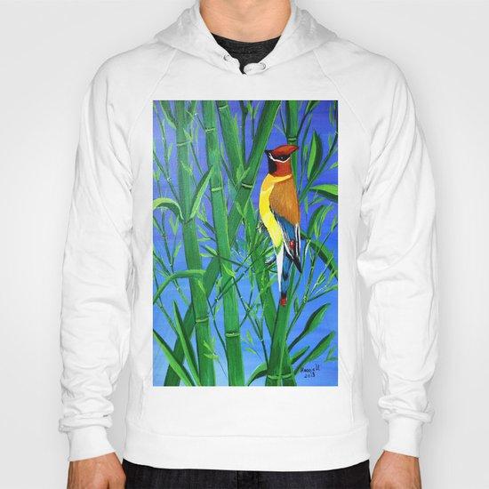 Bamboo and bird Hoody