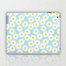 Blue Daisies Laptop & iPad Skin