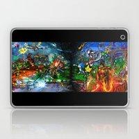 Nintendo Vs Sega Laptop & iPad Skin