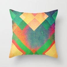 Backlash Throw Pillow