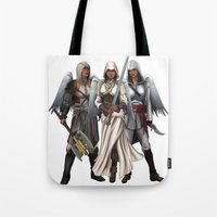 Warrior Angels Tote Bag
