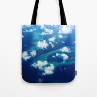Islands and Clouds Tote Bag