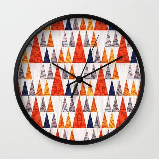 TEEPEE TOWN Wall Clock