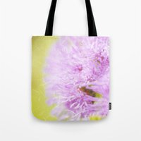 Lavender flower macro Tote Bag