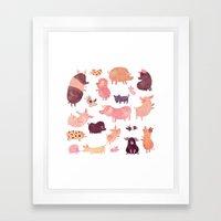 Pig Pig Pig  Framed Art Print