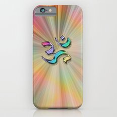 Rainbow Sunburst OM iPhone 6 Slim Case