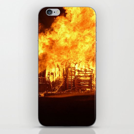 Burning Down the House iPhone & iPod Skin