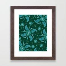 Floral Obscura Framed Art Print
