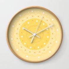 70's vibe Wall Clock