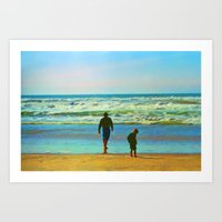 Tethered To A Moment Art Print