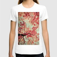 nature T-shirts featuring Autumn Inkblot by Olivia Joy StClaire